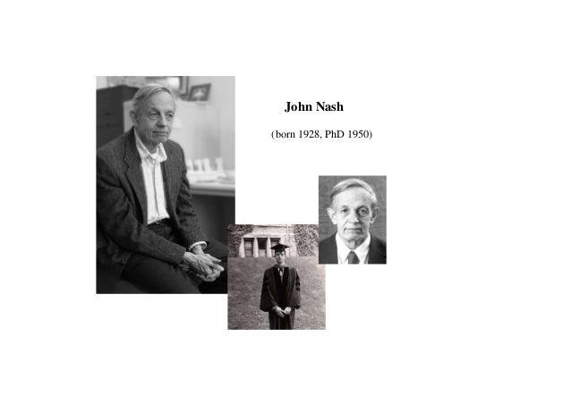 at Princeton University 1950 dissertation on non-cooperative games ..