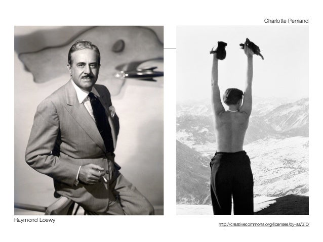 http://creativecommons.org/licenses/by-sa/3.0/ Raymond Loewy Charlotte Perriand