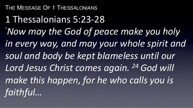 The Message Of Thessalonians - 23 pictures that will make you whole again
