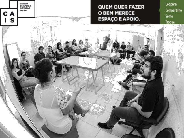 ESPAÇO FÍSICO E INFRAESTRUTURA TRABALHO COMPARTILHADO + EVENTOS