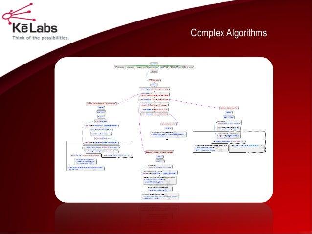 Complex Algorithms