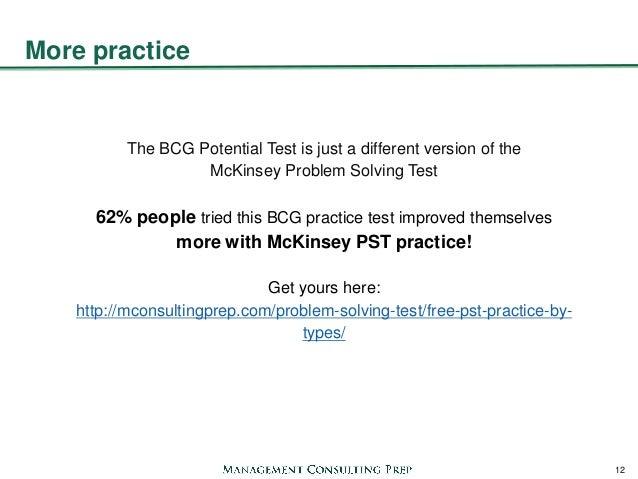 mckinsey pst practice tests pdf