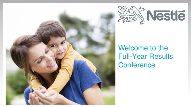 Welcome to the Full-Year Results Conference