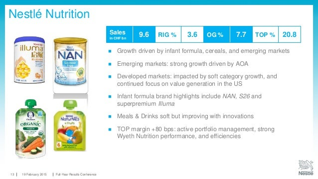 Nestlé 2014 Full-year results presentation