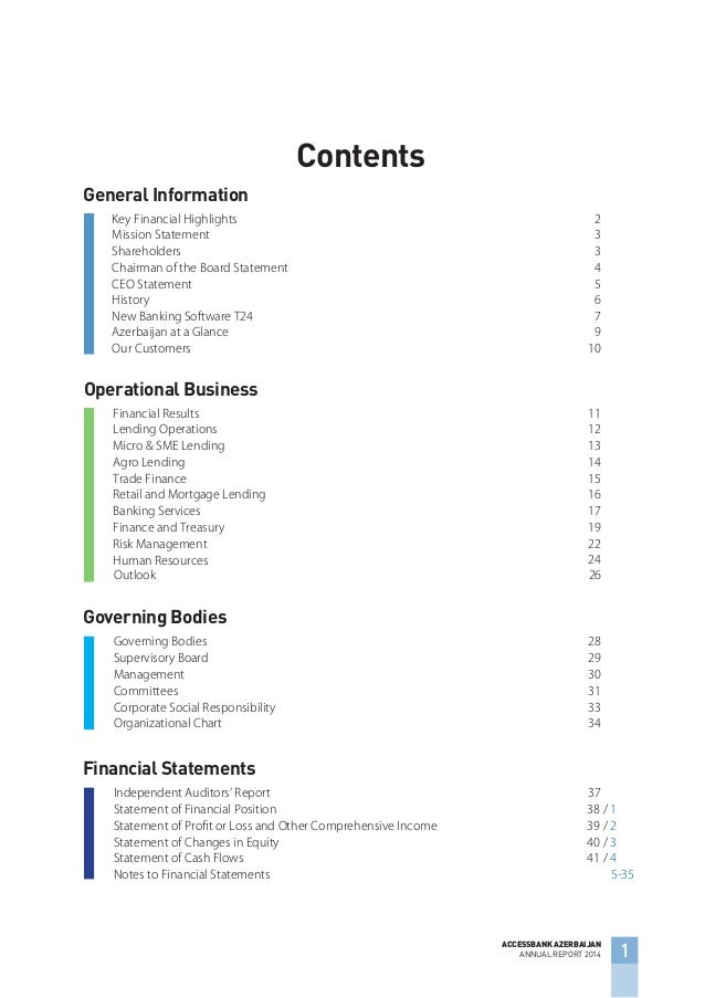 Accessbank Annual Report 2014