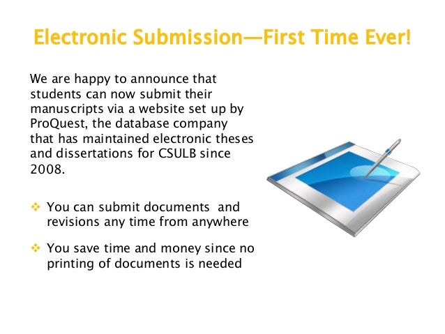 electronic dissertations theses There are two ways to publish – traditional or open access an embargo to delay publishing for a selected period of time may be used with either method.