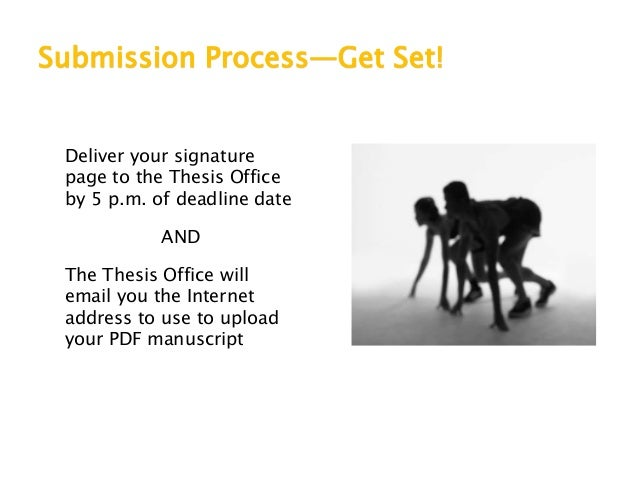 thesis submission deadline csulb