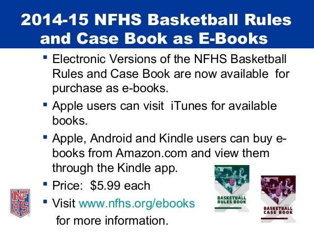 2014 15 nfhs nchsaa basketball rules emphasis fandeluxe Image collections