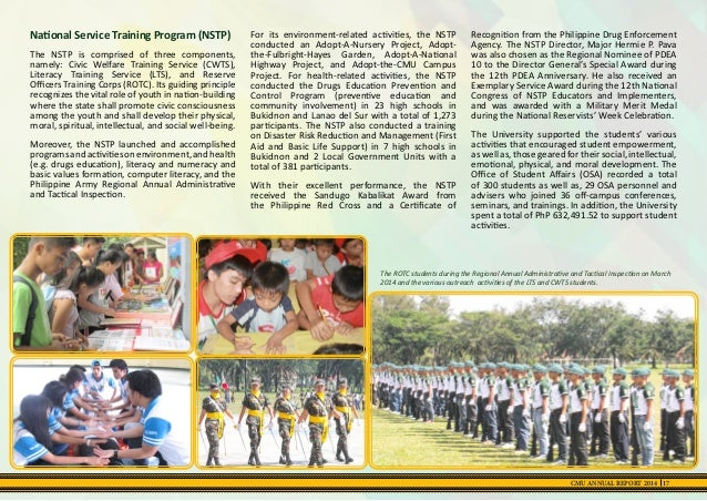 guiding principles of nstp In an effort to create its own unique identity and have guiding determinants for responding to the national situation, the sanggunian released seven core principles on june 12 according to sanggunian president ia marañon, this is the first time that a sanggunian administration has publicly .