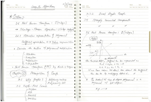 2014-1 computer algorithm w06 notes