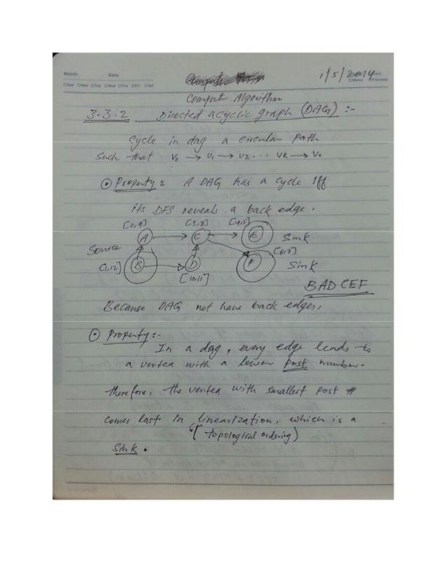 2014-1 Computer Algorithm W09 Notes