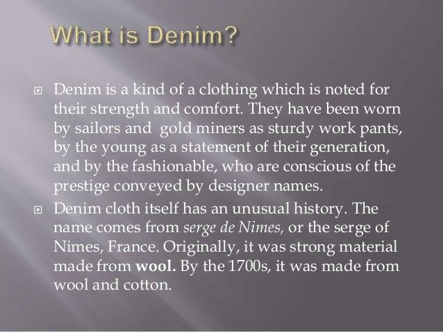 2014 2-4-07 denim apparel manufacturing Slide 3