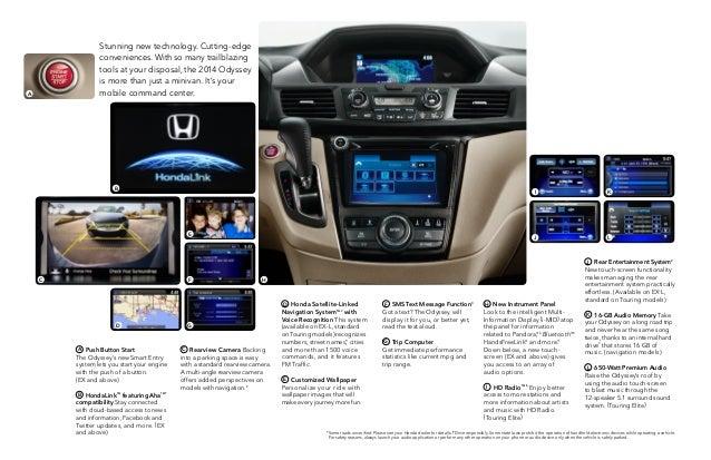 2014 honda odyssey from patty peck honda honda dealer for Honda dealership las cruces