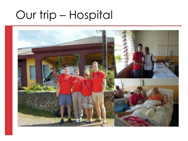 Our trip – Hospital