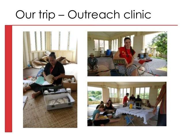 Our trip – Outreach clinic