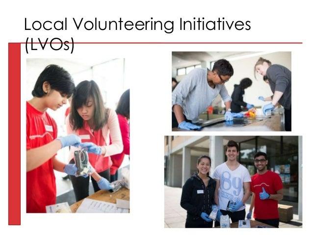 Local Volunteering Initiatives (LVOs)