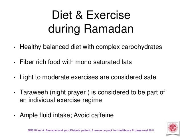 Ramadan Health Articles