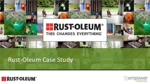 Rust-Oleum Case Study