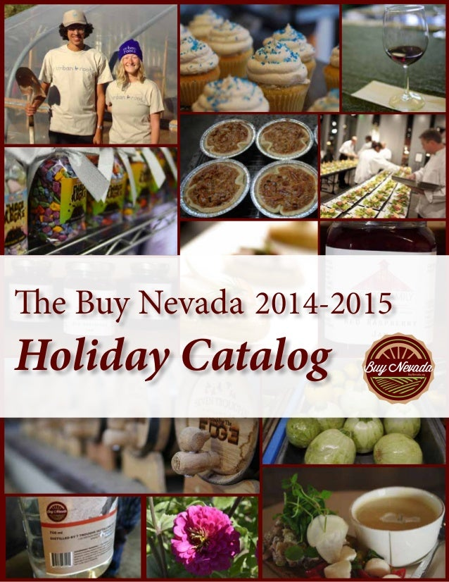 The Buy Nevada 2014 2015 Holiday Catalog BuyNevadaorg