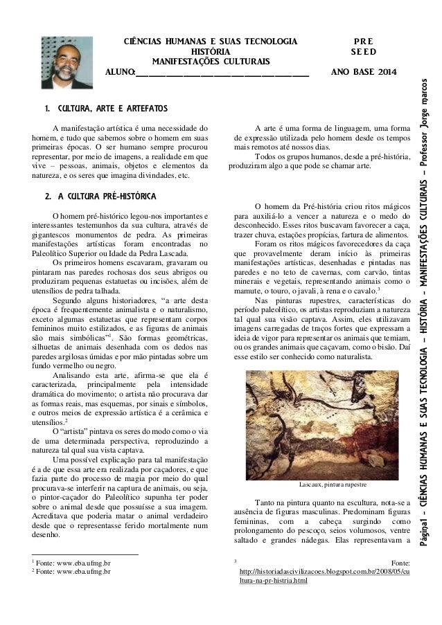 Página1-CIÊNCIASHUMANASESUASTECNOLOGIA–HISTÓRIA-MANIFESTAÇÕESCULTURAIS–ProfessorJorgemarcos CIÊNCIAS HUMANAS E SUAS TECNOL...