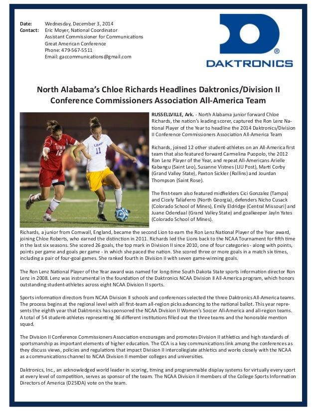Daktronics All America Soccer