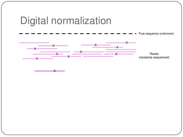 Digital normalization