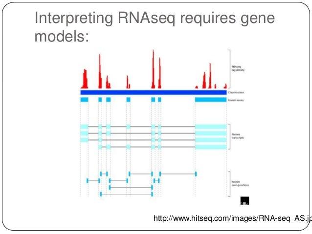 Interpreting RNAseq requires gene models:  http://www.hitseq.com/images/RNA-seq_AS.jp