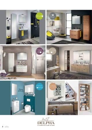 catalogue 2014 meubles de salle de bains delphy de delpha - Meuble Urban Design