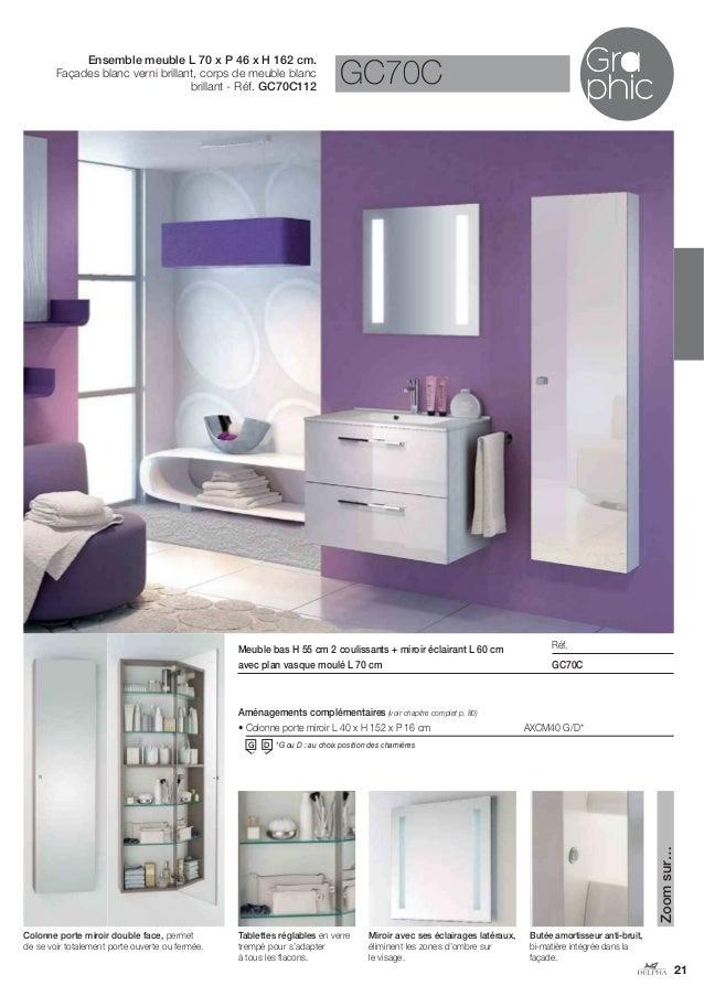 Catalogue 2014 meubles de salle de bains Delphy de Delpha # Catalogue De Meuble