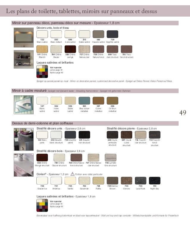 Catalogue meubles de salle de bains empreinte 2014 for Catalogue meuble