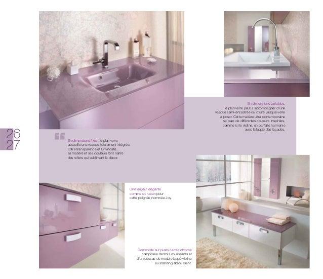 Catalogue meubles de salle de bains modernes Influences dAujourdhui -> Catalogue De Meuble