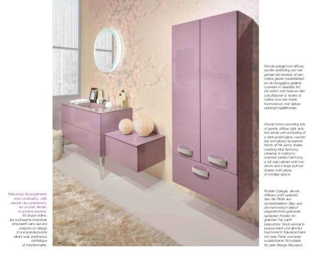catalogue meubles de salle de bains modernes influences d 39 aujourd 39 hui. Black Bedroom Furniture Sets. Home Design Ideas