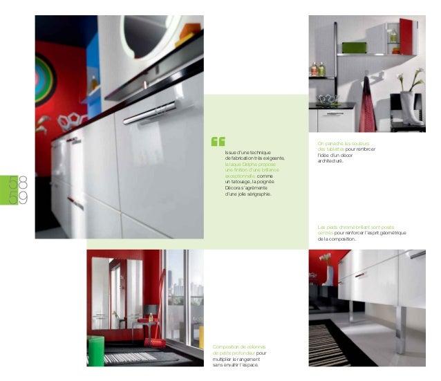 Catalogue meubles de salle de bains modernes influences d 39 aujourd 39 hui - Meubles petites oppervlakken ...