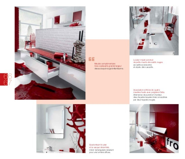 Catalogue meubles de salle de bains modernes Influences dAujourdhui -> Catalogue Des Meubles