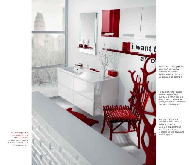 Catalogue meubles de salle de bains modernes Influences d ...