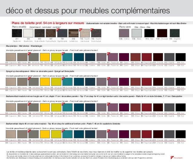 Catalogue meubles de salle de bains modernes influences d 39 aujourd 39 hui - Kennisgeving furniture ...