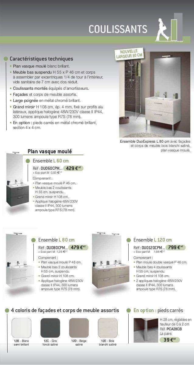 2014 catalogue meubles de salle de bains urbanpro de delpha for Catalogue salle de bain