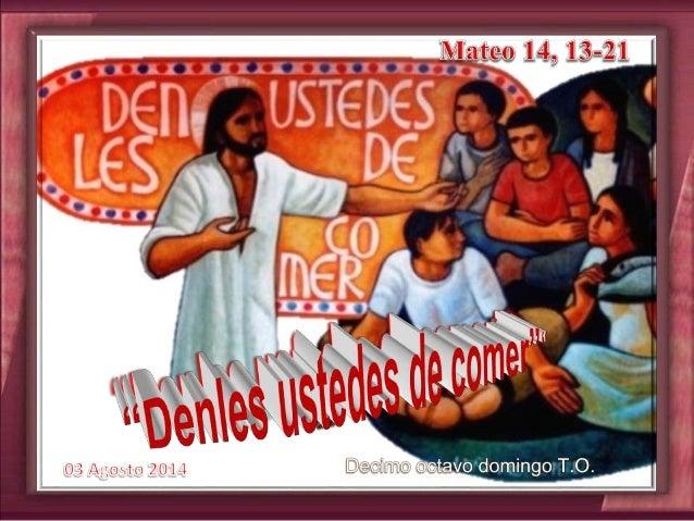 Cantos sugeridos: No podemos caminar; Hambre de Dios