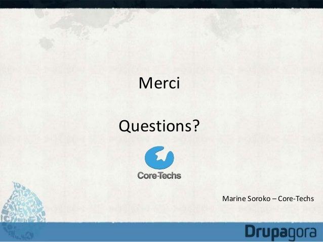 Drupagora 2014 :  Reprendre un projet avec Drupal quand on a des centaines de milliers de contenus