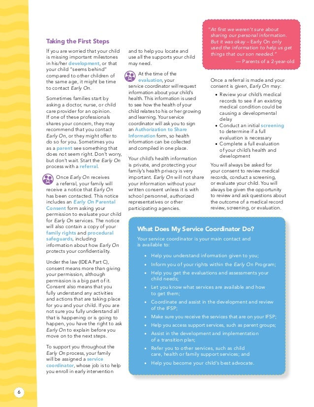 Procedural Safeguards Michigan Alliance For Families >> Early On Michigan Family Guidebook