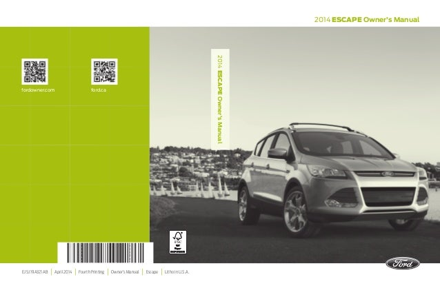 ford escape owners manual httpava avtoru