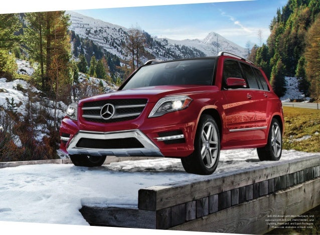 glk 350 shown with mars red - Mercedes Glk Red