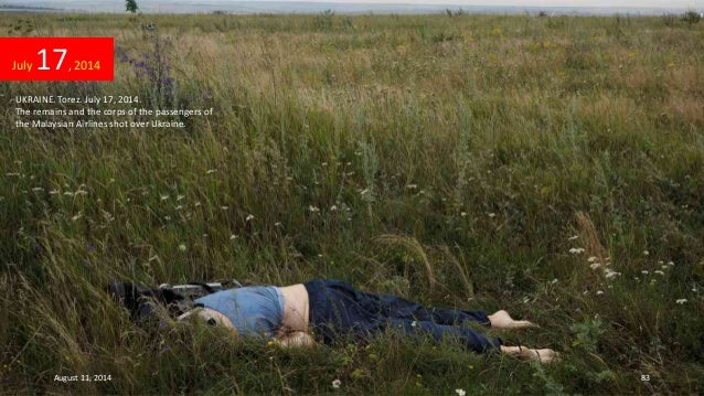 2014 - Images of JULY- July 16 - July 23 United Airlines Flight 811 Human Remains