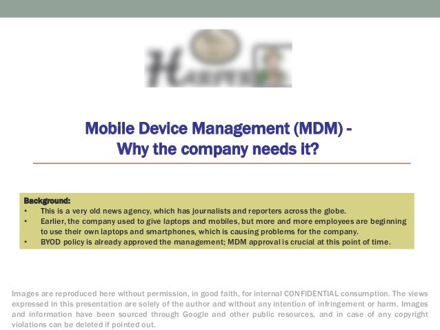 2014 Mobile Device Management Mdm Case Study News Agency