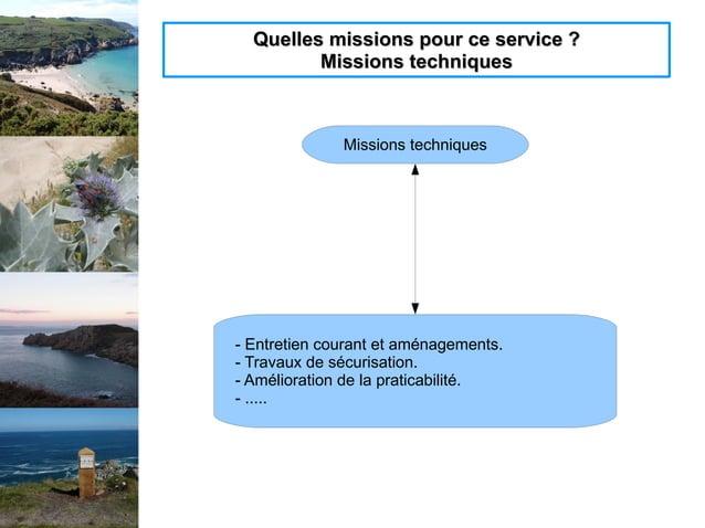 Quelles missions pour ce service ?Quelles missions pour ce service ? Missions techniquesMissions techniques Missions techn...
