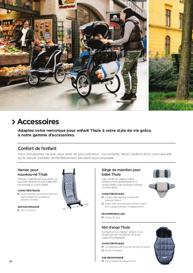 Le Catalogue Thule Active With Kids 2014