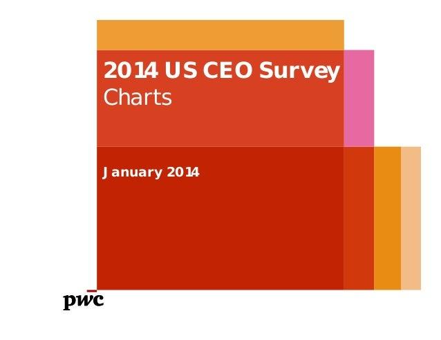 2014 US CEO Survey Charts January 2014