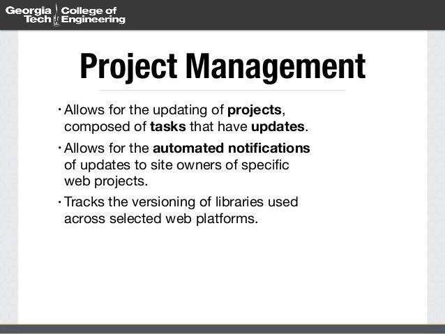 USG Summit - September 2014 - Web Management using Drupal