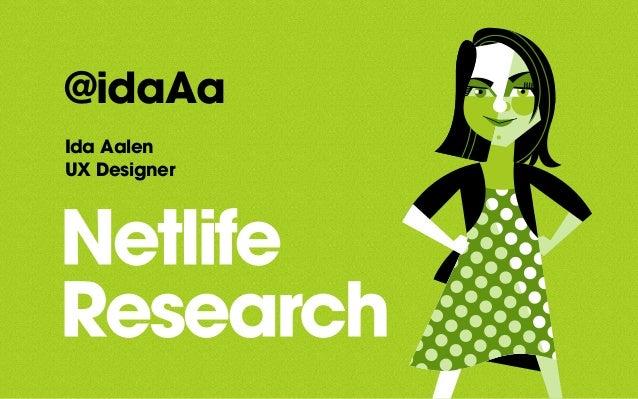 @idaAa Ida Aalen UX Designer
