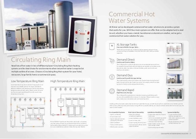 Rinnai Water Heating Catalogue